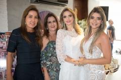 Ana Vládia Barreira, Adriana Bezerra, Michelle Aragão e Camila Arraes