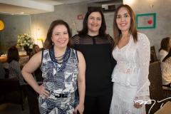 Ana Zélia Gadelha, Marília Marinho e Kerolaine Cavalcante