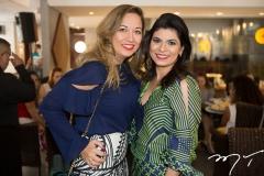 Anastácia Queiroz e Denise Caciele