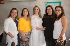 Andréa Coelho, Tânia Oliveira, Michelle Aragão, Marília Marinho e Mônica Oliveira