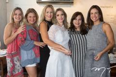Érica Amaral, Karine Bezerra, Márcia Peixoto, Michelle Aragão, Martinha Assunção e Ana Virgínia Martins