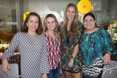Germana Mendes, Alice Fortes, Cristiane Acioly e Mayara Silva