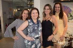 Germana Mendes, Ana Zélia Gadelha, Patrícia França e Solange Horta