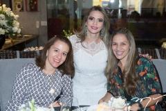 Germana Mendes, Michelle Aragão e Cristiane Acioly
