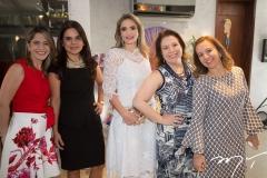 Karla Nogueira, Laís Albuquerque, Michelle Aragão, Ana Zélia Gadelha e Germana Mendes