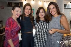 Lilian Porto, Ana Vládia Barreira, Martinha Assunção e Ana Virgínia Martins