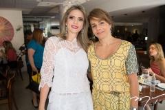 Michelle Aragão e Ana Clara Ferreira Gomes