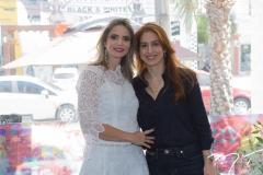 Michelle Aragão e Cláudia Feitosa