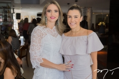 Michelle Aragão e Liana Diniz