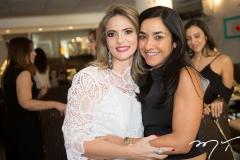 Michelle Aragão e Roberta Morais