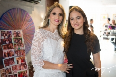 Michelle e Bianca Aragão