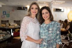 Michelle Aragão e Fabrícia Arraes