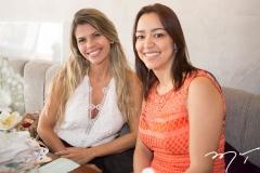 Roberta Esmeraldo e Melissa Lobo