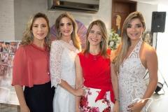 Suyane Dias Branco, Michelle Aragão, Karla Nogueira e Camila Arraes