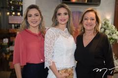 Suyane Dias Branco, Michelle Aragão e Tânia Teixeira