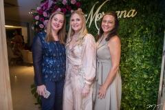 Ana Maria De Francesco, Morgana Dias Branco e Aliete Mascarenhas