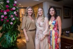 Georgia Fontes, Morgana Dias Branco e Maria Lúcia Negrão