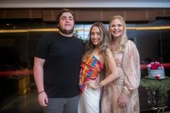 Luciano, Lissa e Morgana Dias Branco