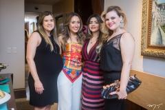 Nekita Romcy, Lissa Dias Branco, Roberta Romcy e Lalá Pimentel