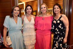 Ailza Ventura, Cris Faria, Andrea Delfino e Claudia Gradvohl