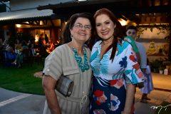 Glaucia Acioli e Diana Soares