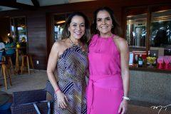 Ligia Villar e Rafaela Pinto