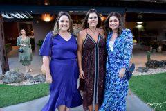 Luciana Colares, Nara Amaral e Emilia Buarque