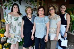 Luciana, Neyle, Zilma, Rejane Aciole e Janine Feitosa