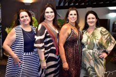 Luciana Oliveira, Andrea Rios, Nara Amaral e Roselandia Lima