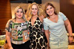 Manoela Romcy, Marcia Peixoto e Gisela Dias Branco