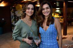 Zuleika Studart e Cristina Brasil