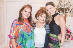 Cláudia Alexandre, Maria Helena Alexandre e Nathália Ponte