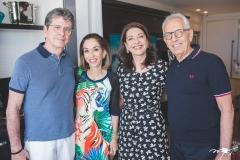 Márcio Távora, Márcia Távora, Guirlanda Ponte e Paulo Ponte