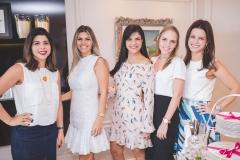Manuela Liebmann, Roberta Esmeraldo, Michelle Skinner, Nathália Gripp e Raquel Petrone