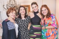 Maria Helena Alexandre, Guirlanda Ponte, Nathália Ponte e Cláudia Alexandre