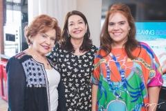 Maria Helena Alexandre, Guirlanda Ponte e Cláudia Alexandre