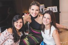 Michelle Skinner, Nathália Ponte e Raquel Petrone