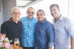 Paulo Ponte, Emanuel Ponte, Ramon Alexandre e Rodrigo Ponte