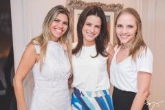 Roberta Esmeraldo, Raquel Petrone e Nathália Gripp