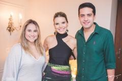 Roberta Fernandes, Nathália Ponte e Victor Oliveira