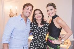 Rodrigo, Guirlanda e Nathália Ponte