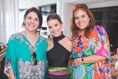 Tânia Vasconcelos, Nathália Ponte e Cláudia Alexandre