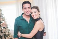 Victor Oliveira e Nathália Ponte