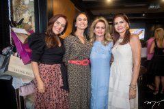 Cláudia Alexandre, Neuza Rocha, Germana Cavalcante e Lorena Pouchain