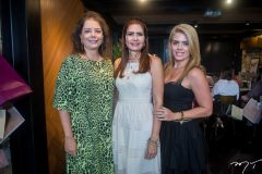 Cláudia Gradvohl, Lorena Pouchain e Letícia Studart