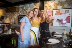 Germana Cavalcante, Márcia Andréa e Letícia Studart