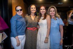 Izabela Fonseca, Neuza Rocha, Lourena Pouchain e Germana Cavalcante