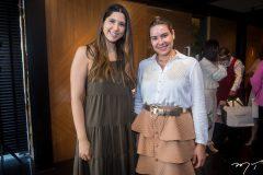 Lara Pouchain e Juana Bahia