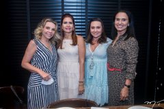 Lilian Porto, Lorena Pouchain, Socorro Medeiros e Neuza Rocha