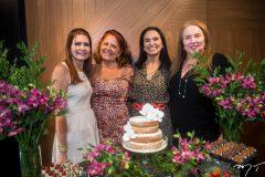 Lorena Pouchain, Fátima Arruda, Neuza Rocha e Luiziane Cavalcante